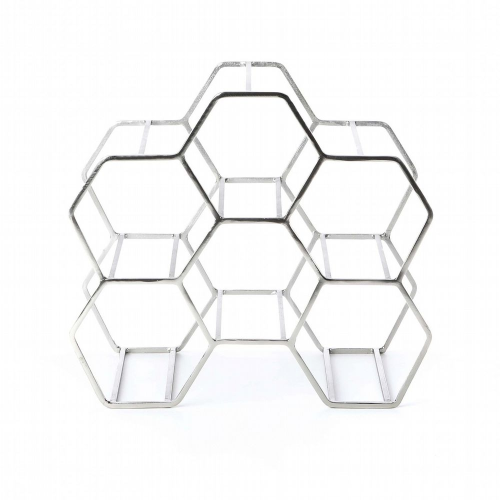 Metal Winerack - Honeycomb - Steel